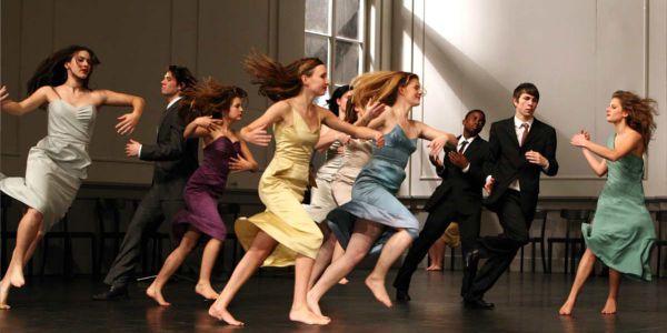 Les Reves dansants sur les pas de Pina