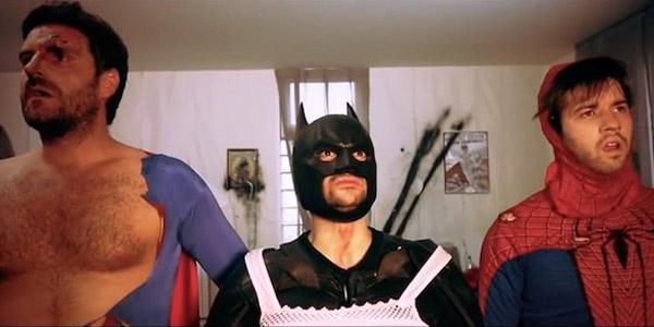 THE SUPERHEROES HANGOVER